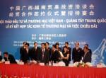 LỄ KÝ KẾT hợp tác kinh tế thương mại với Quảng Tây - Trung Quốc