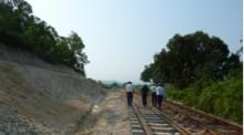 Dự án thay tà vẹt bê tông K1, K2, tà vẹt sắt bằng tà vẹt bê tông dự ứng lực, kéo dài đường ga, đặt thêm đường số 3 đối với các ga chỉ có 2 đường đoạn Vinh – Nha Trang, tuyến đường sắt Thống nhất